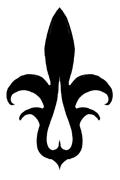 誇り高き妖花黒百合紋章